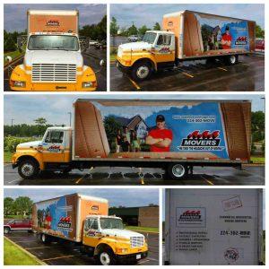 custom semi truck vinyl graphics