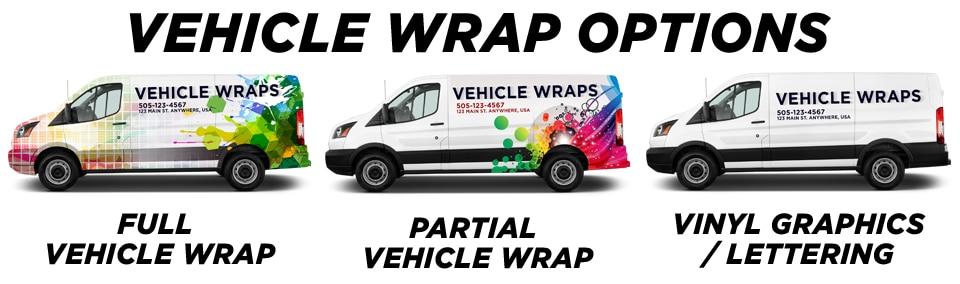 Milwaukee Vehicle Wraps vehicle wrap options